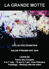 Salon Pyramid'Art 2019 - La Grande Motte